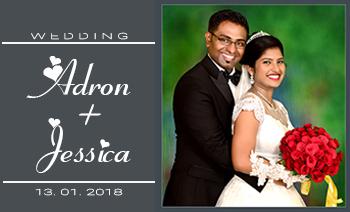 Adron Jessica Wedding