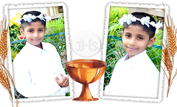 Aldric holy communion