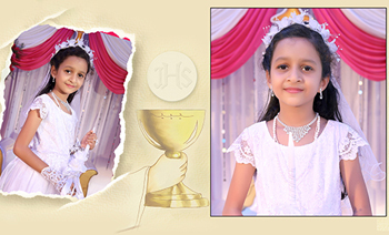 Alisha Holy Communion