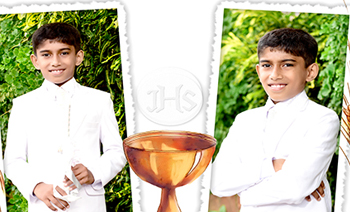 Ankit Holy Communion