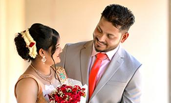 Babitha-Preetham Engagement
