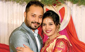 Blessy Sachin Engagement