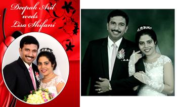 Deepak weds Lisa