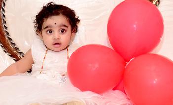 Ishani 1st B'Day