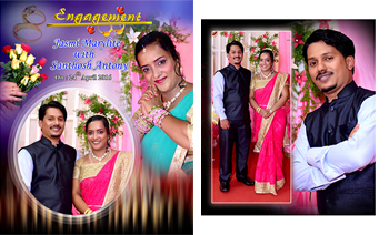 Jasmi + Santhosh Engagement