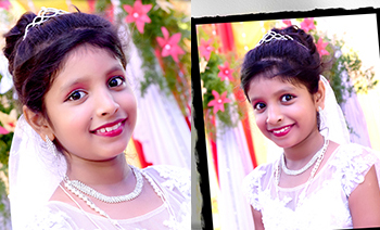 Jisha Livia Holy Communion