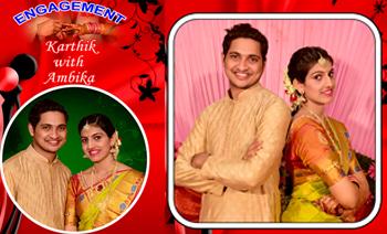 Karthik-Ambika Engagement