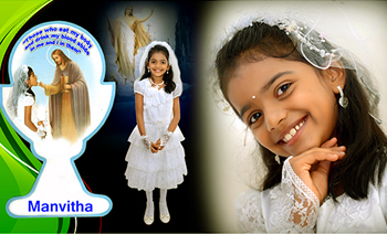 Manvitha Holy Communion