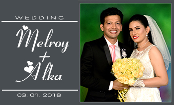 Melroy-Alka Wedding