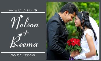 Nelson Reema Wedding