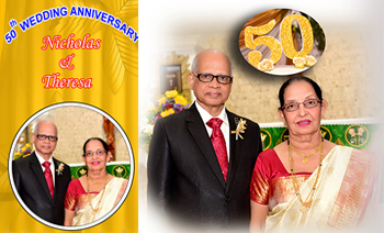 Nicholas Theresa 50th wedding anniversary