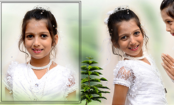 Niharika Holy Communion