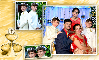 Nikhil & Nihal Holy Communion