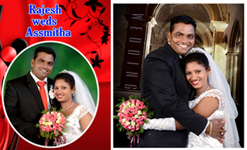 Rajesh Assmitha Wedding