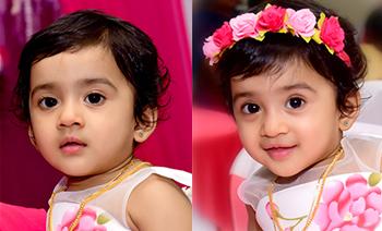 Rheya 1st Birthday
