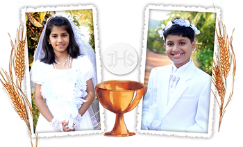 Dsa Holy Communion Riya & Reevan