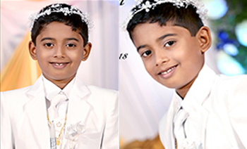 Riyan Holy Communion