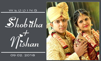 Shobitha Nishan Wedding