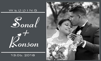 Sonal-Ronson Wedding