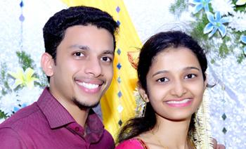 Sandhya-Reuben Engagement