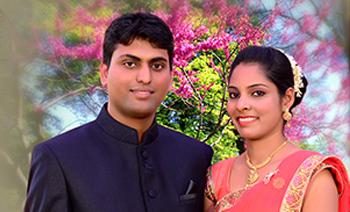 Vinitha-Chethan Engagement