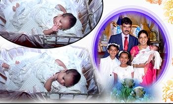 Vishal & Viaan Holy & Cradling