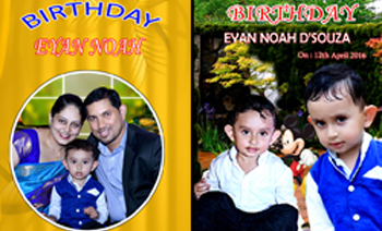 Eyan 1st Birthday