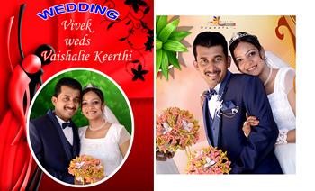 Vivek weds Vaishalie